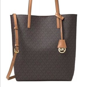 Michael Kors Hayley Convertible Large Tote